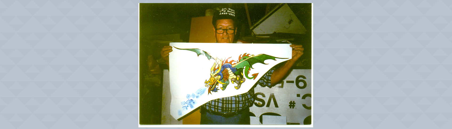 Customized Dragon Painting